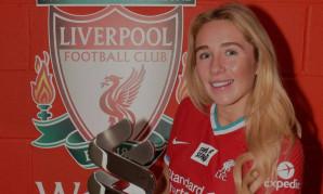 Missy Bo Kearns wins LFC Women's Player of the Month award