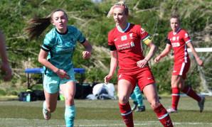 Liverpool FC Women training match
