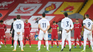 Minute's silence before Liverpool v Real Madrid