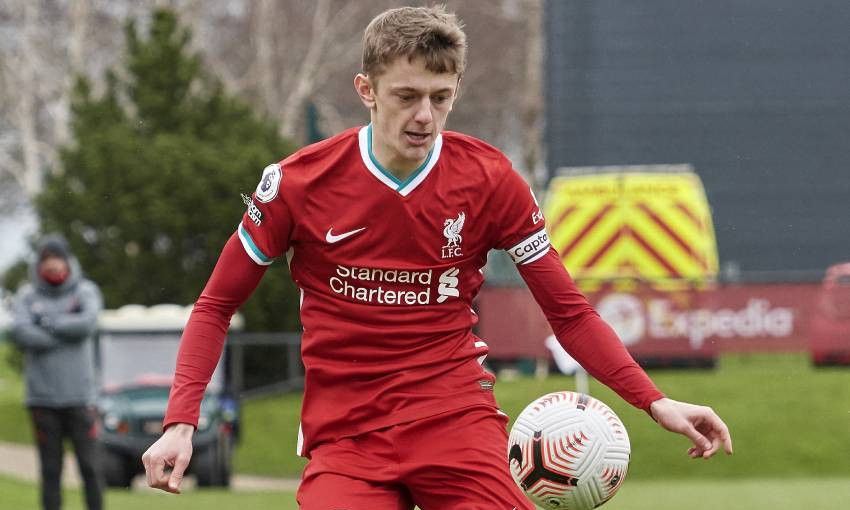 Tom Clayton of Liverpool FC