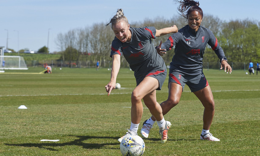 Liverpool FC Women training - 23/4/2021