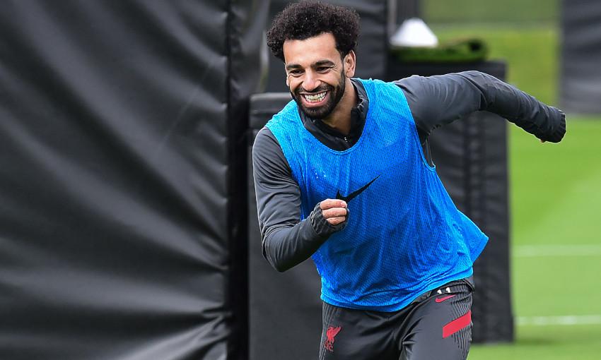 Mohamed Salah in training - 28/4/2021
