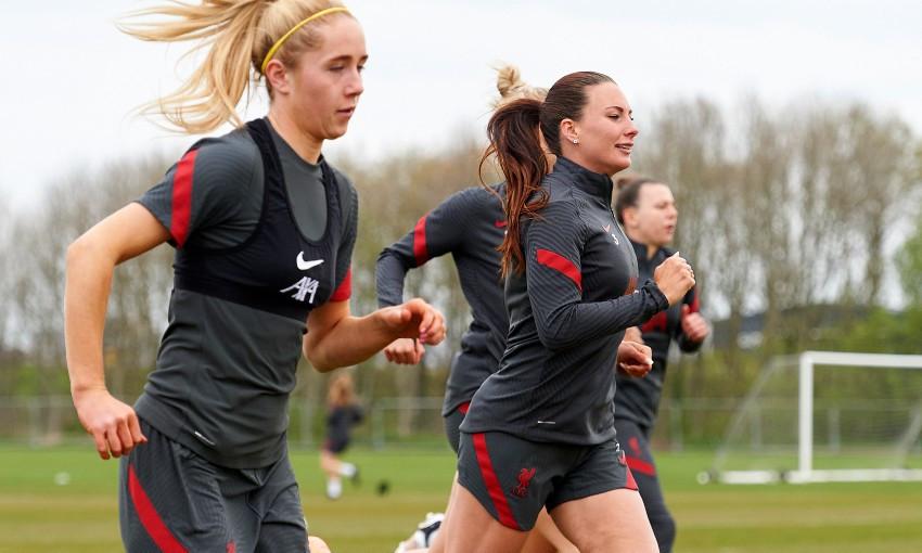 Liverpool FC Women training session