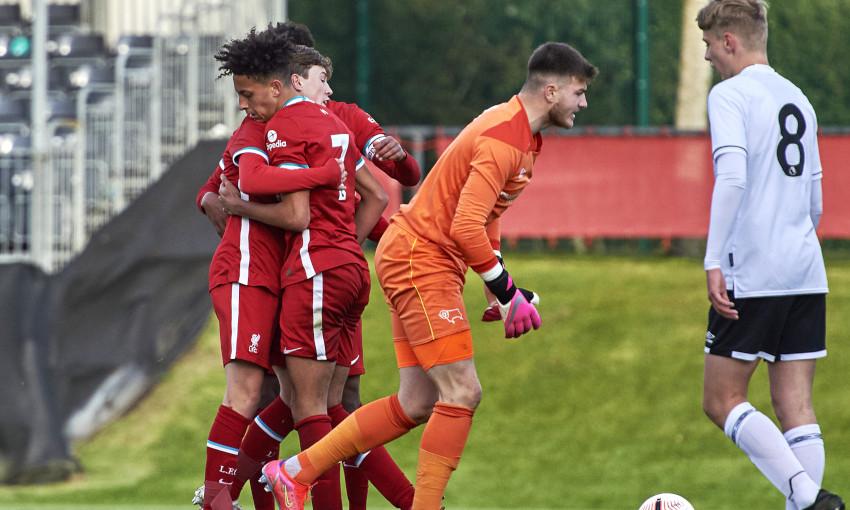 Liverpool U18s v Derby County - 4/5/2021