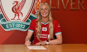Rhiannon Roberts of Liverpool FC