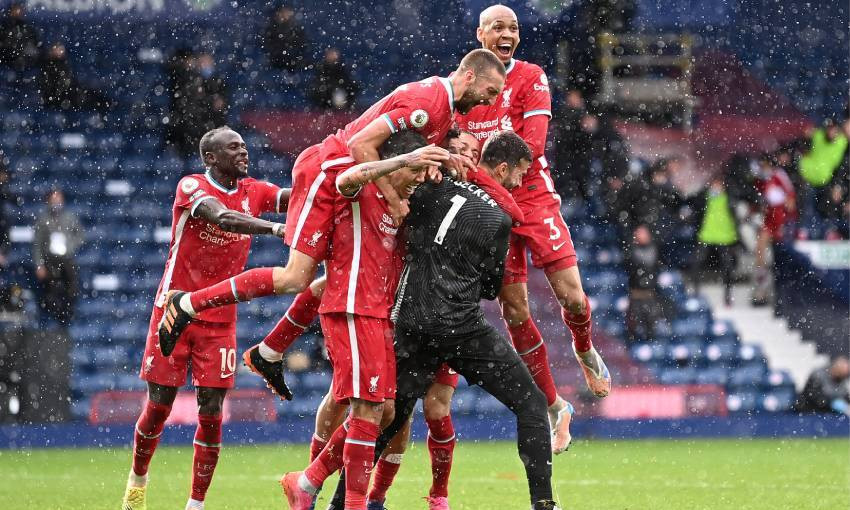 West Bromwich Albion v Liverpool - 16/5/2021