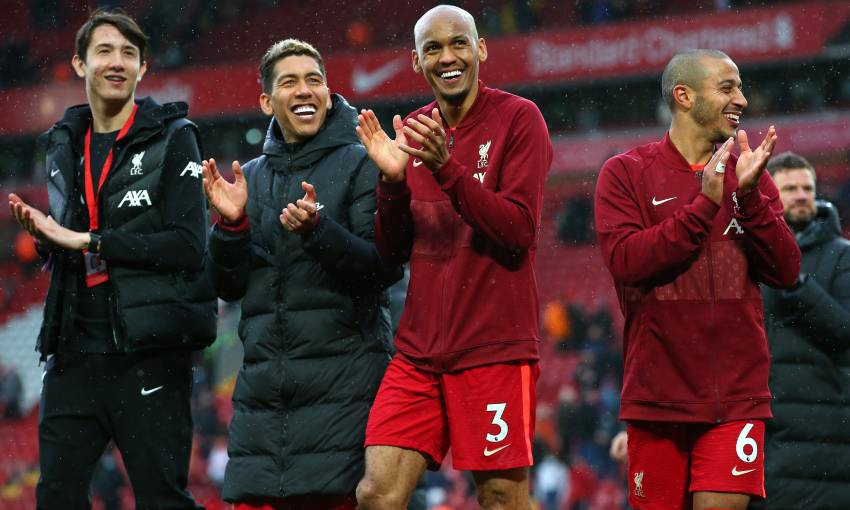 Fabinho of Liverpool FC
