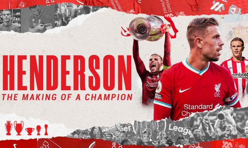 Jordan Henderson documentary - 'Henderson: The Making of a Champion'