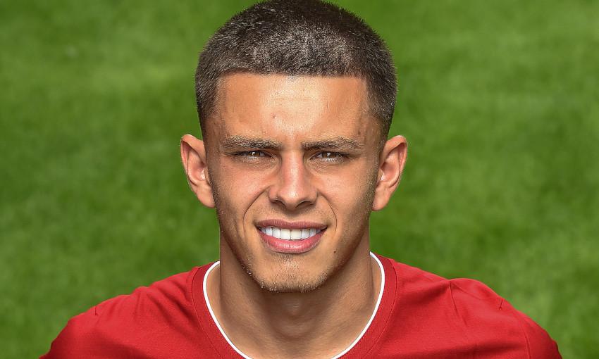 Adam Lewis of Liverpool FC