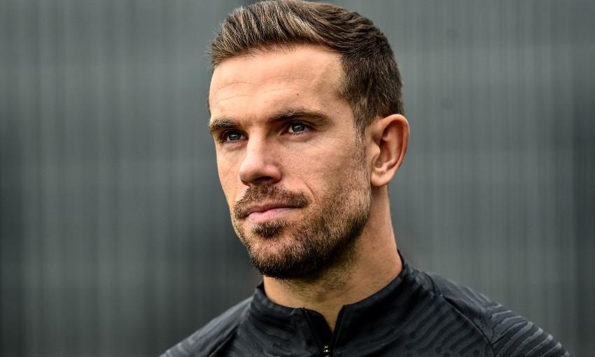 Jordan Henderson of Liverpool FC and England