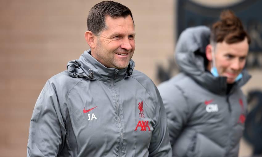 John Achterberg of Liverpool FC