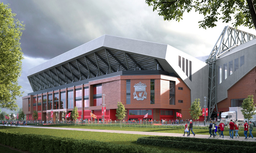 Proposed Anfield Road expansion