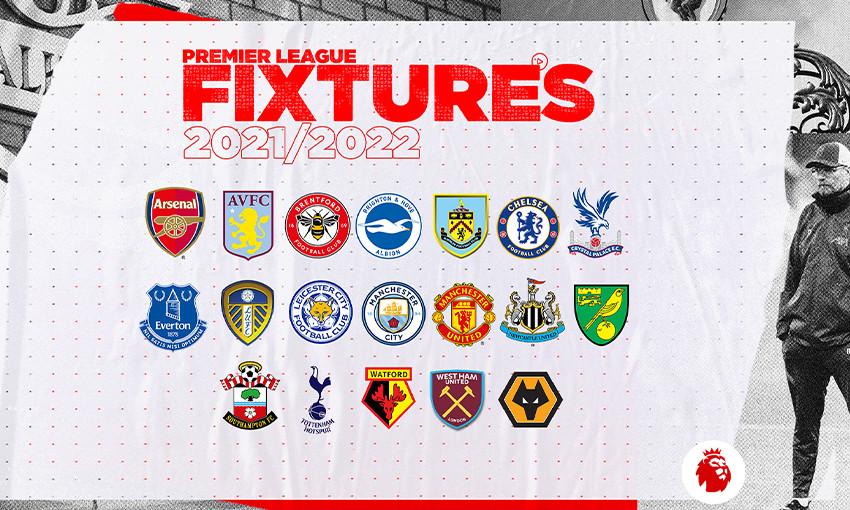 Premier League opponents for 2021-22