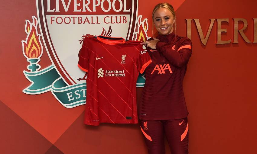 Ashley Hodson of Liverpool FC Women
