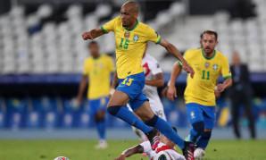 Copa America: Fabinho and Firmino feature in Brazil's win over Peru