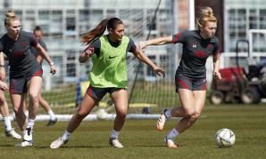 Liverpool FC Women training