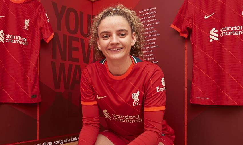 Leanne Kiernan of Liverpool FC Women