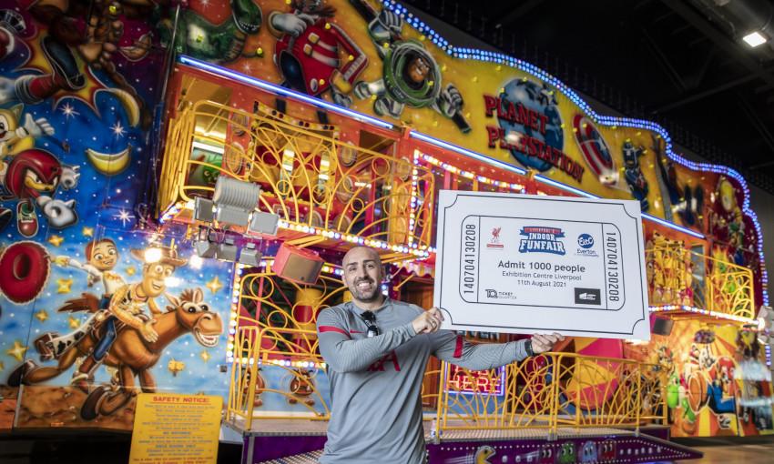 Indoor funfair - 1000 tickets for LFCF & EITC