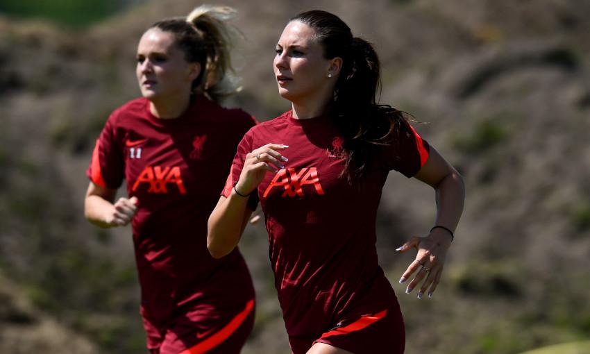Liverpool FC Women training - 06/07/2021
