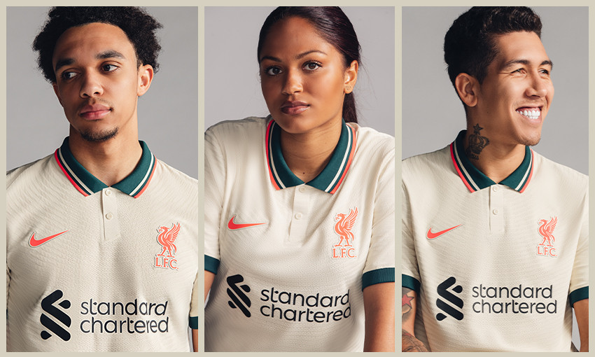 Liverpool Fc Unveils New Nike Away Kit For 2021 22 Season Liverpool Fc