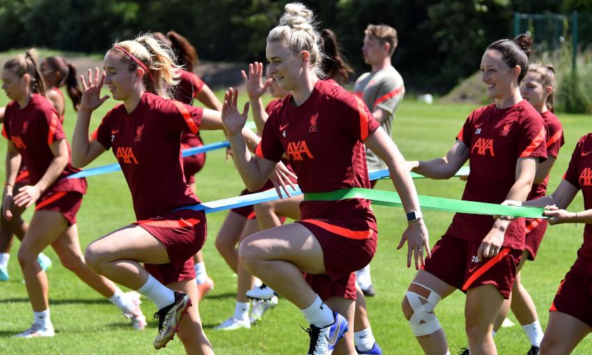 Liverpool FC Women training - 14/7/2021