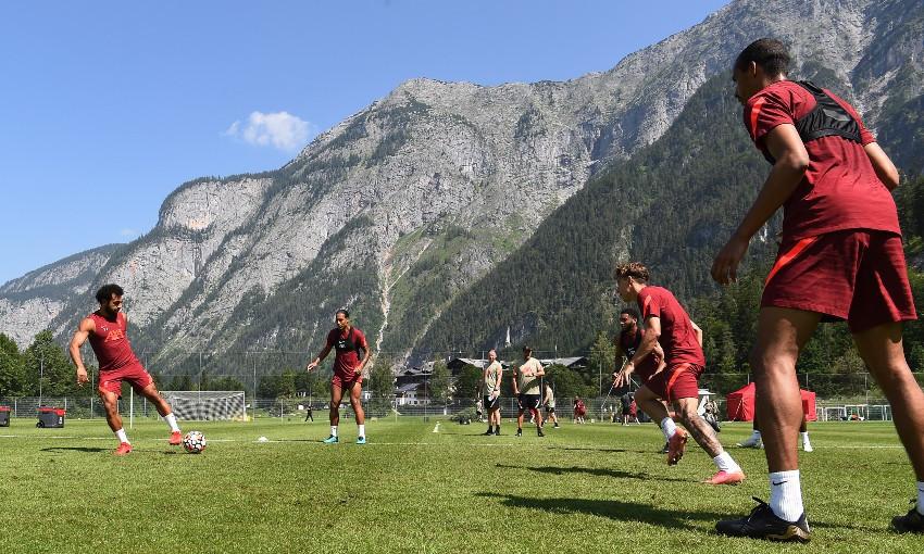 Liverpool FC pre-season training session in Austria
