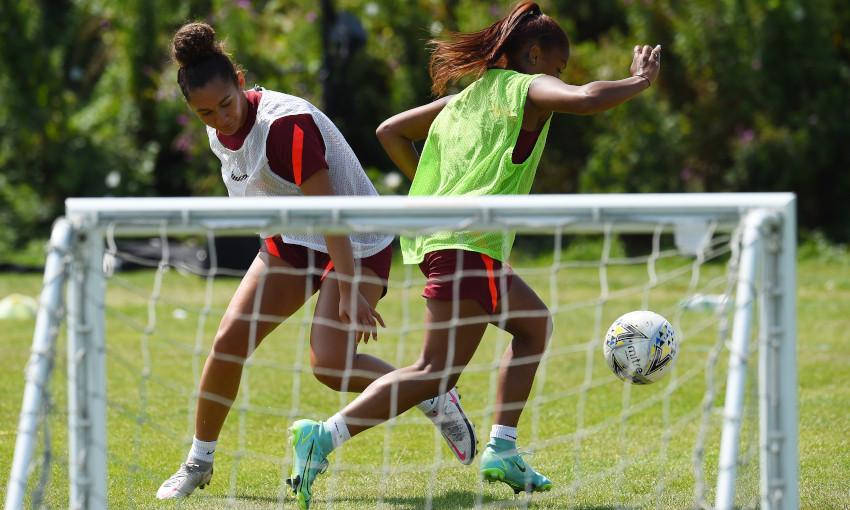 Liverpool FC Women training - 21/7/2021