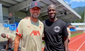 Revealed: Why Yaya Toure was at LFC's training session on Thursday
