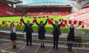 Local kids ready for Anfield return