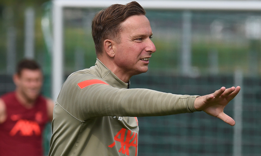 Pep Lijnders' diary: Day 17, forfeit rondos and Trent v Curtis at table tennis