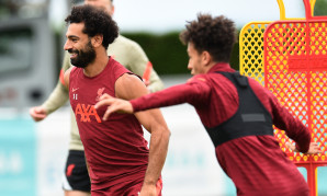 Liverpool training in Evian - 1/8/2021