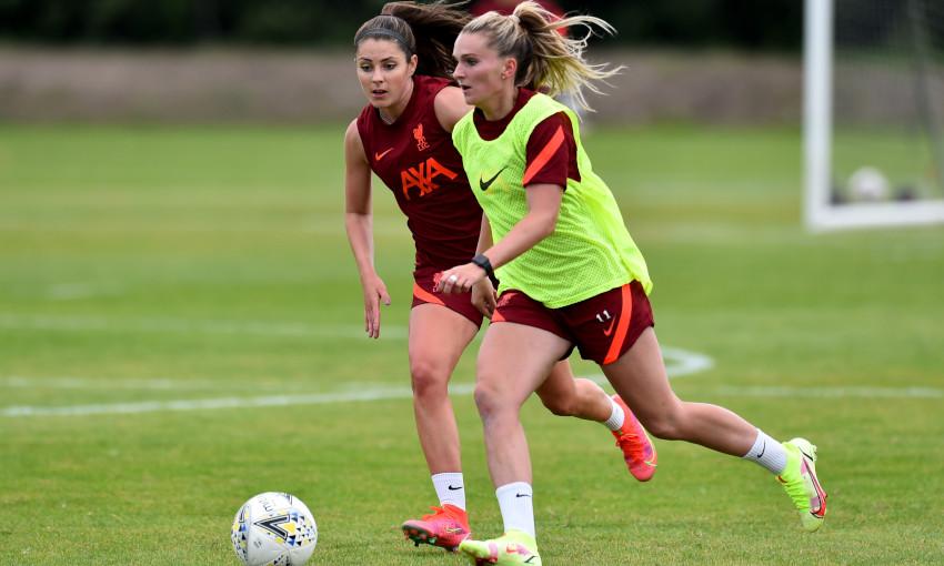 Liverpool FC Women training - 04/08/2021