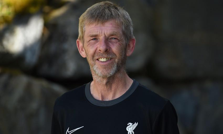 Mick Bibby of Liverpool FC