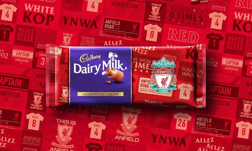 Cadbury x Liverpool FC