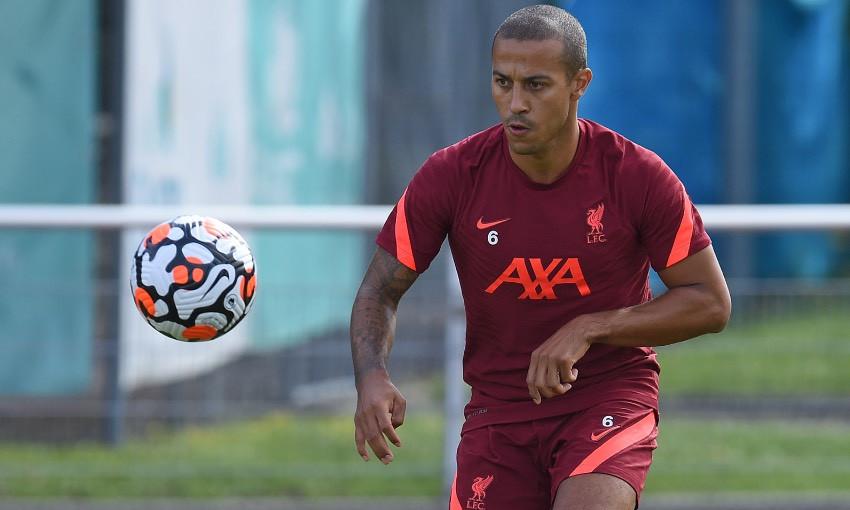 Thiago Alcantara of Liverpool FC