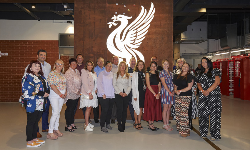 Community heroes at Anfield