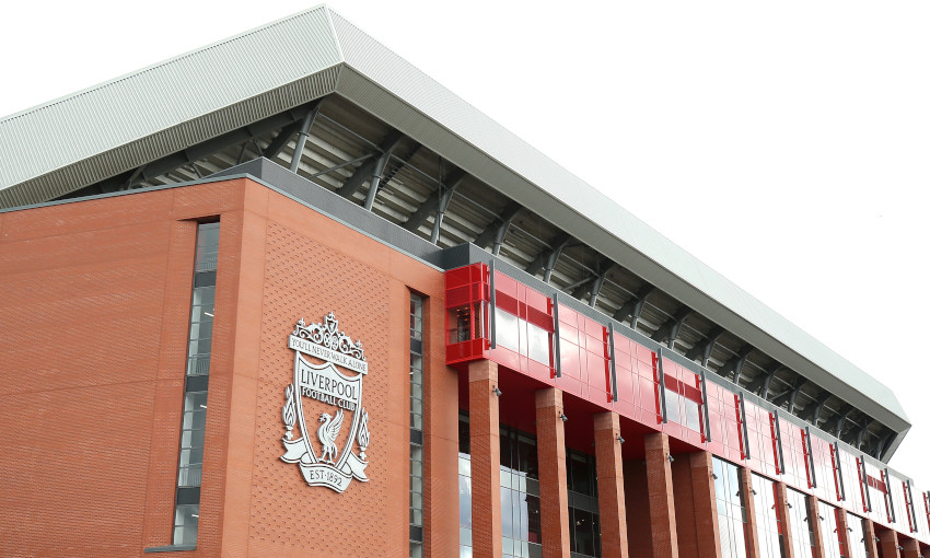 General view outside Anfield