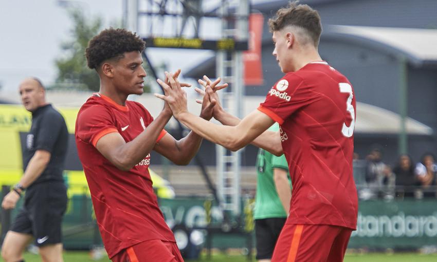 Liverpool U18s v Stoke City - 14/8/2021