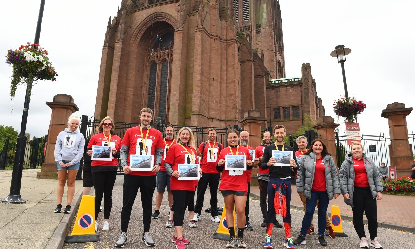 LFC Foundation cathedral abseil