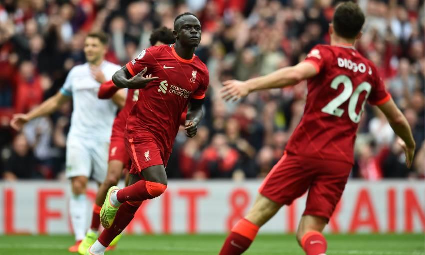 Sadio Mane of Liverpool FC