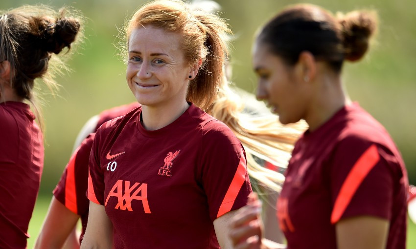Rachel Furness of Liverpool FC Women