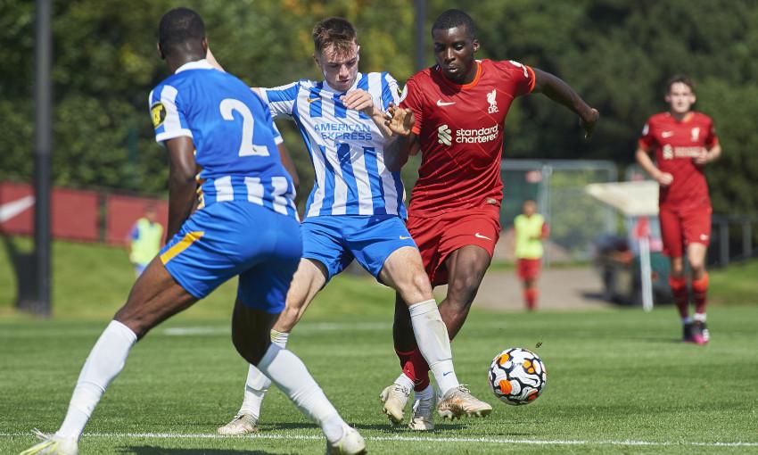 Liverpool U23s v Brighton & Hove Albion - 28/8/2021