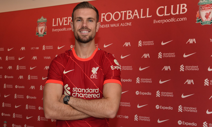 Jordan Henderson signs new contract with Liverpool FC - Liverpool FC