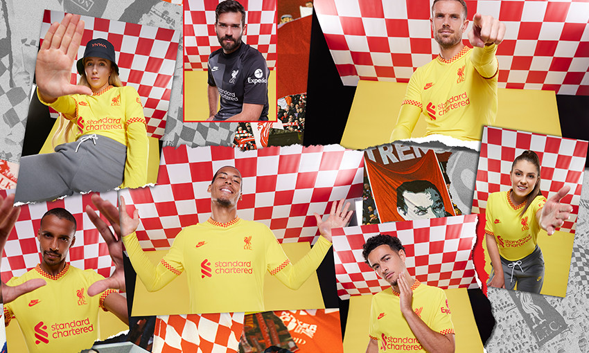 Liverpool FC's Nike third kit for 2021-22 season