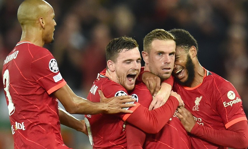 Report: Henderson volley secures Champions League win over AC Milan
