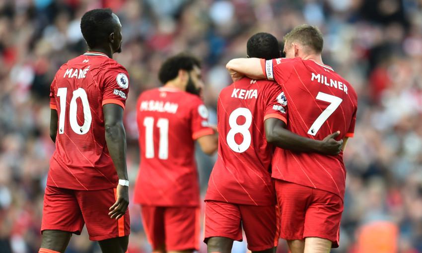 Liverpool v Crystal Palace - 19/9/2021