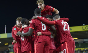 Norwich City v Liverpool, Carabao Cup