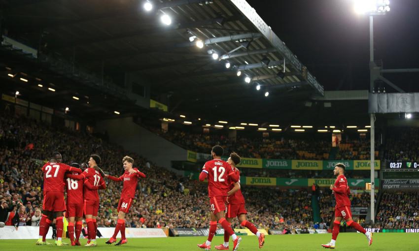 Norwich City v Liverpool - 21/09/2021