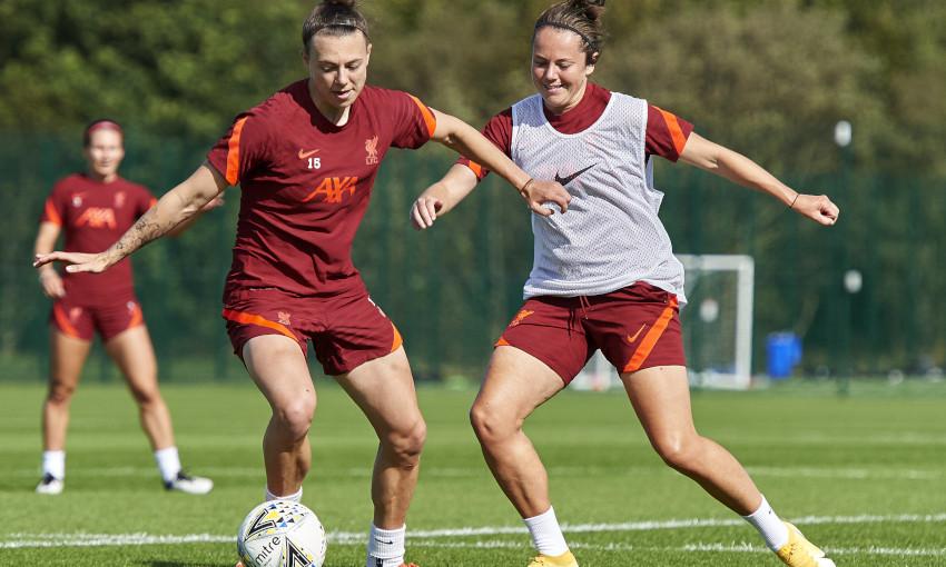 Liverpool FC Women training session - 24/09/2021