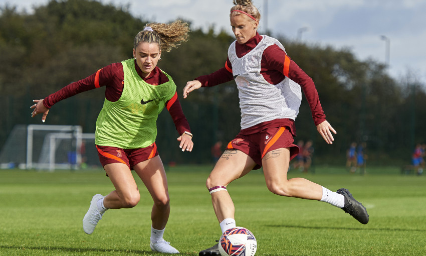 Liverpool FC Women training session - 1/10/2021